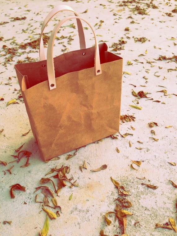 Etsy : Paper lunch bag : First item sold on etsy : ขายของออนไลน์ชิ้นแรกบน etsy : ตอนที่ 2