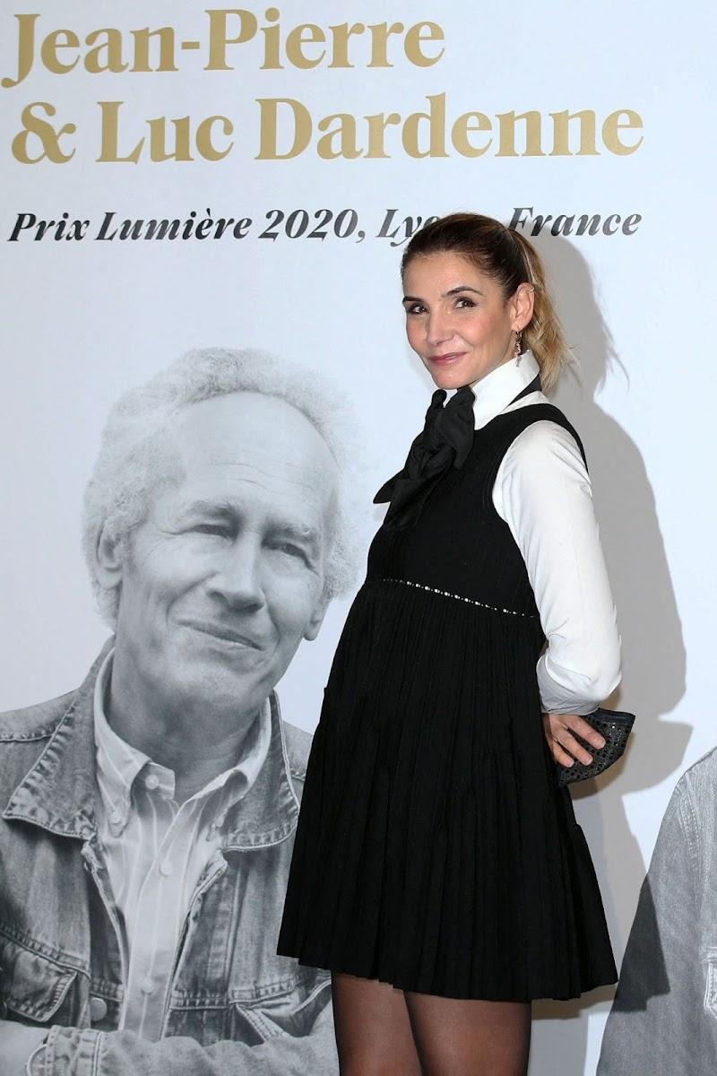 Clotilde Courau ar 12th Lumiere Film Festival Closing Ceremony in Lyon 15 Oct -2020