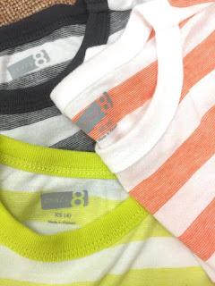 Áo thun kẻ dệt tay ngắn bé trai hiệu Crazy 8 ( form to hơn 1 size ạ, size 14/16T bố bon chen được nhe), size 4-16T.