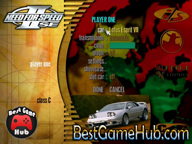 Need for Speed II SE PC Repack Game Download Free