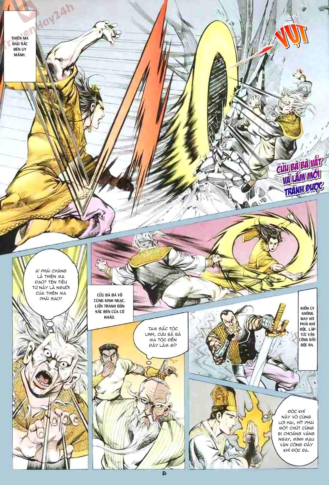 Cơ Phát Khai Chu Bản chapter 80 trang 4