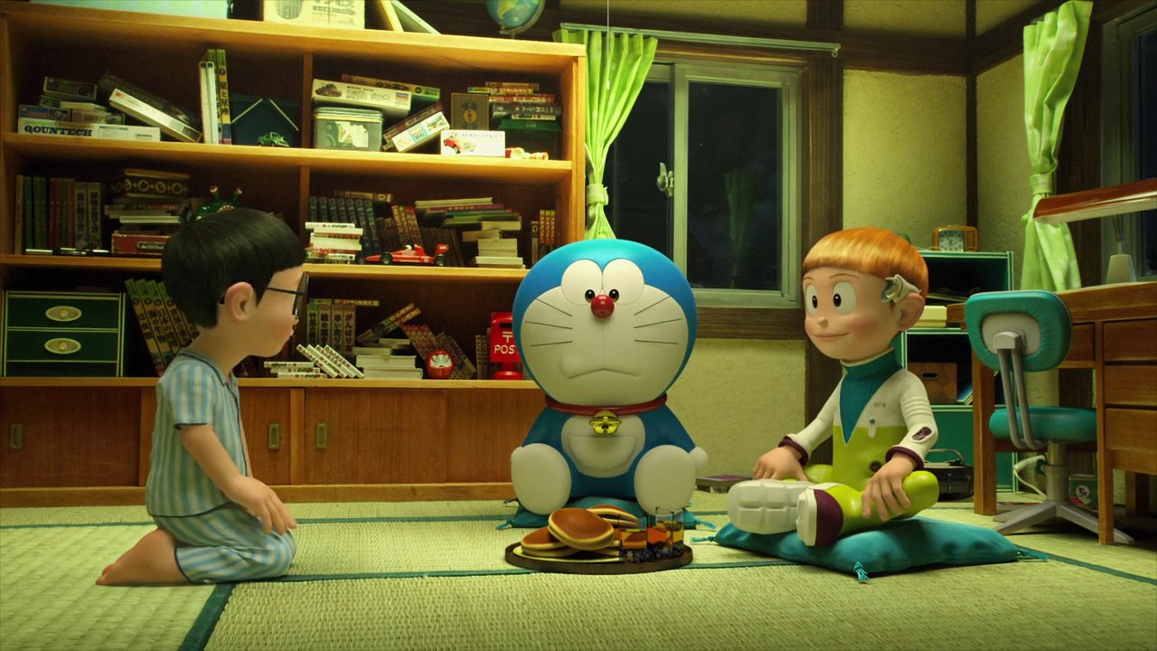Download Stand By Me Doraemon (2014) Dual Audio {Hindi-English} Movie 480p | 720p BluRay 300MB | 900MB