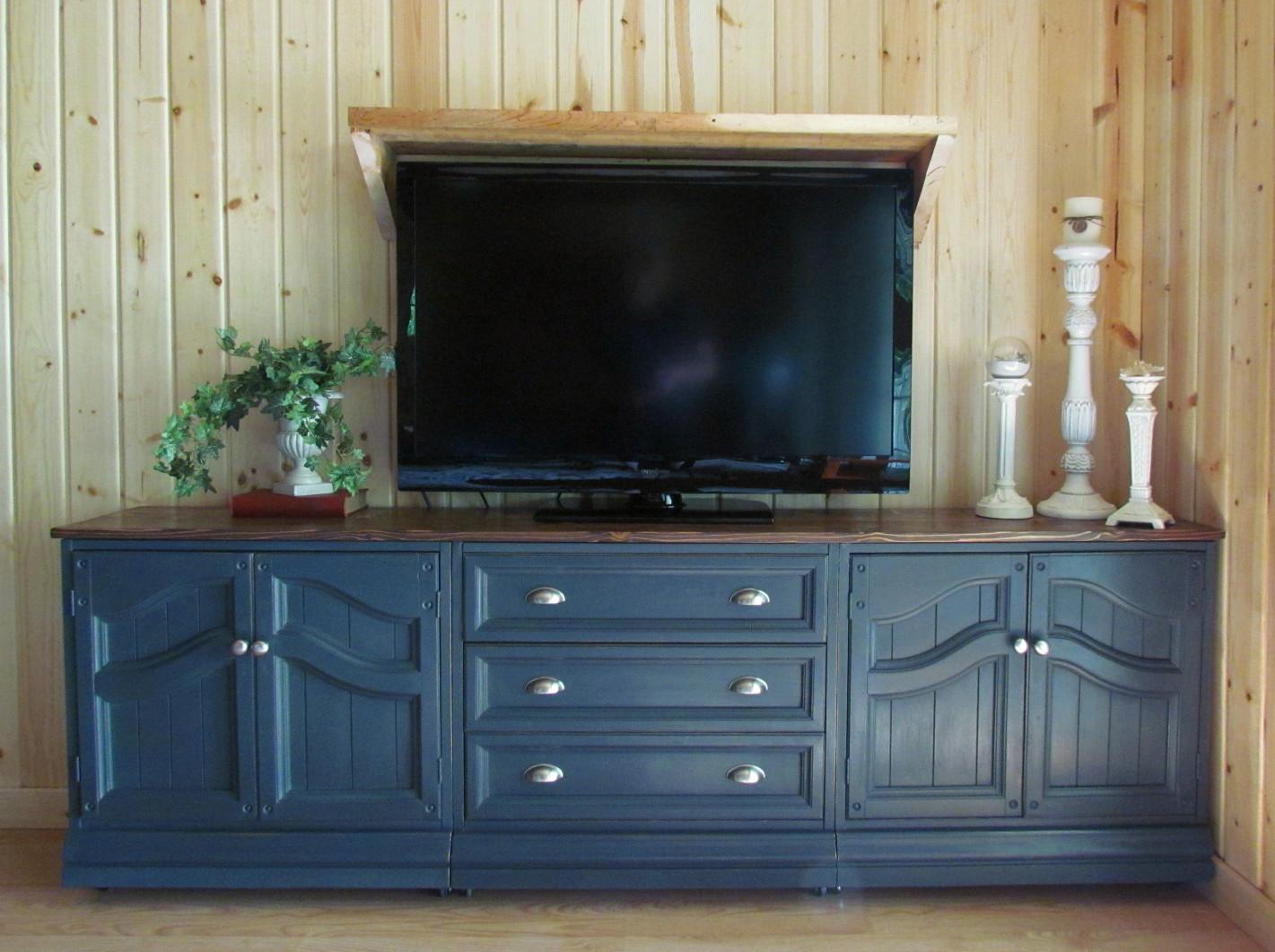 Rustoleum Kitchen Cabinets Wildwood Creek Tv Cabinet In Graphite