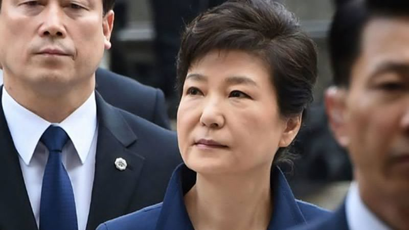 South Korea's Ex-President Charged With Bribery, Abuse Of Power