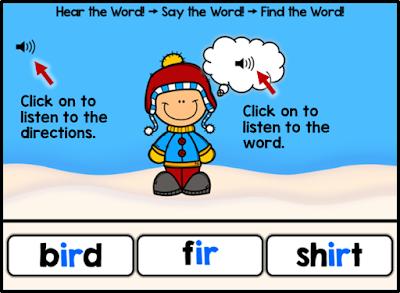 Letter Combination ir (Bossy r): Hear It! Say It! Find It!