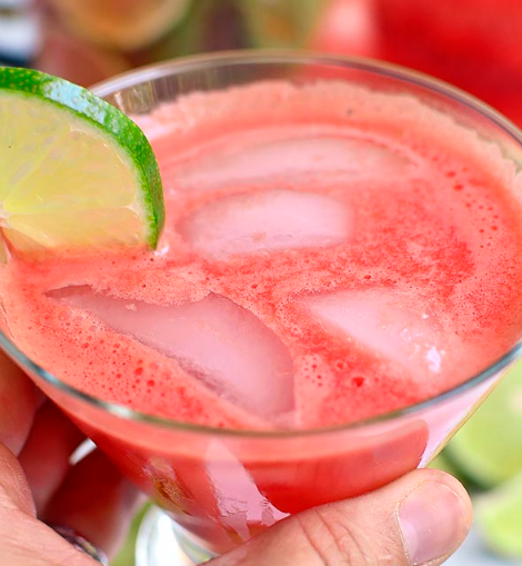Watermelon Agua Fresca #healthydrink #watermelon #fresca #easy #smoothie