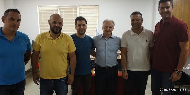 Ο Γιάννης Ανδριανός επισκέφθηκε την Ένωση Αστυνομικών Αργολίδας