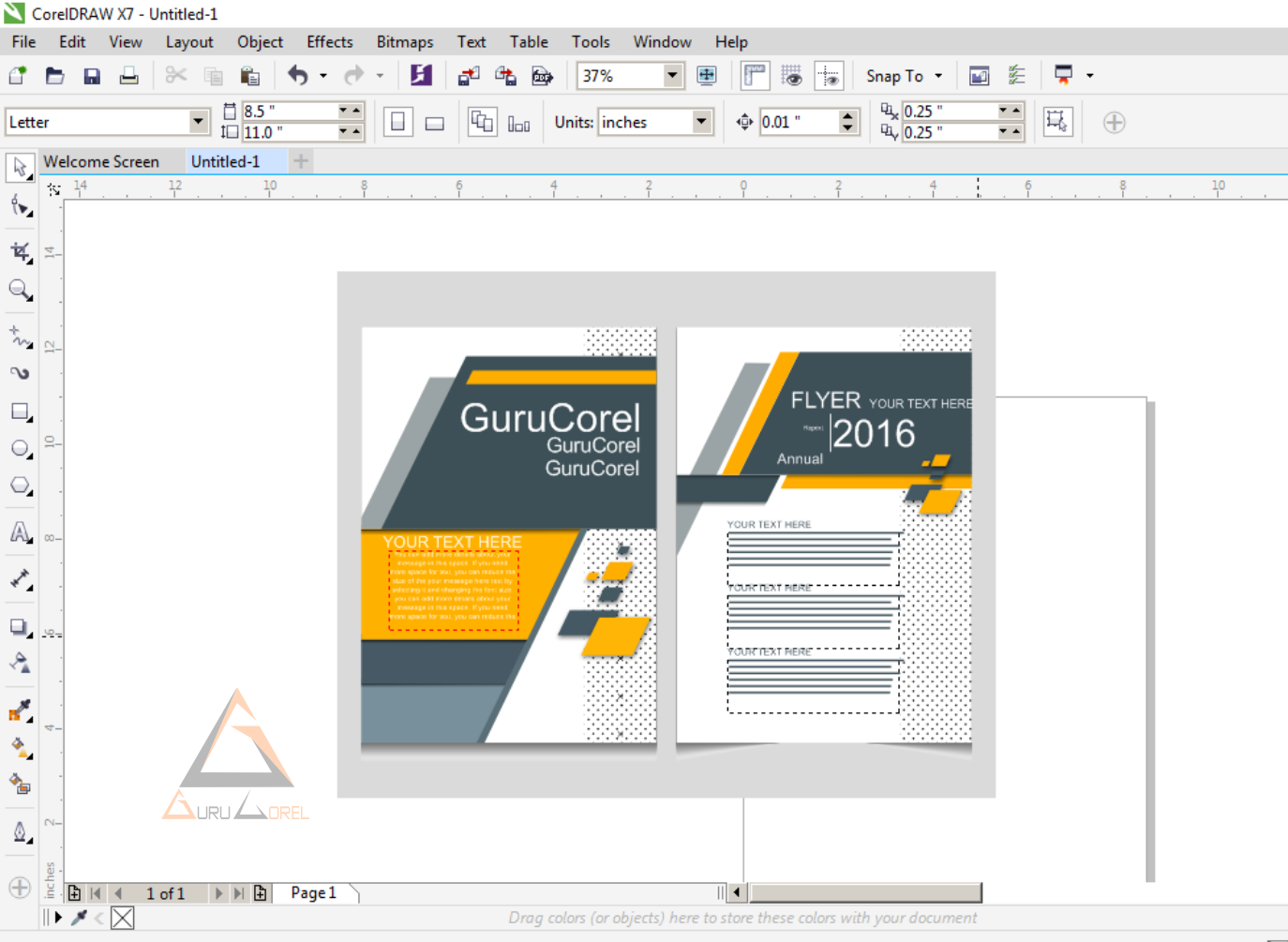 2 Easy Ways to Open and Edit File 'AI' 'PDF' 'PSD' 'EPS' In Corel Draw   Guru Corel