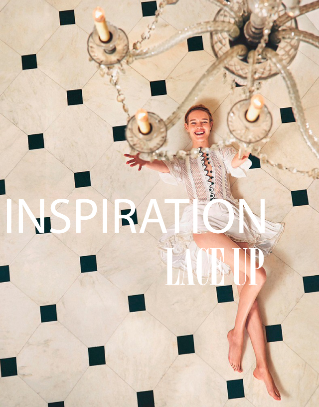 INSPIRATION:LACE UP