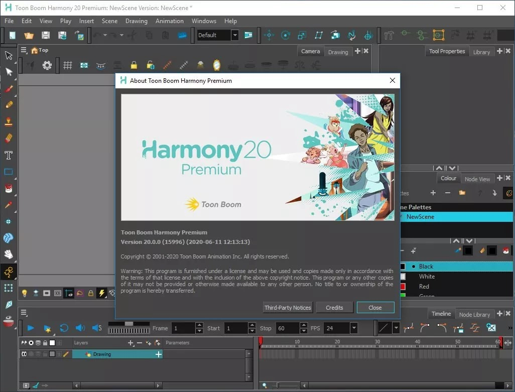 تحميل برنامج Toon Boom Harmony 20.0 Premium لإنشاء رسوم متحركة ورسومات لجميع أنواع المشاريع