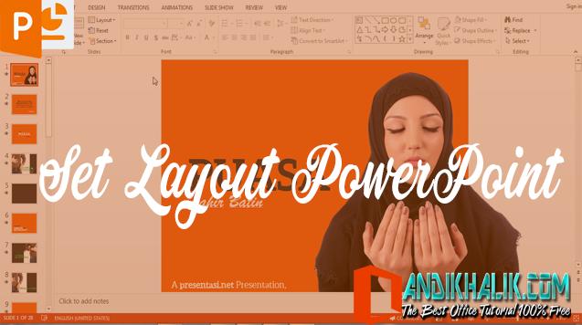 Cara Mengubah Tata Letak (Layout) di PowerPoint
