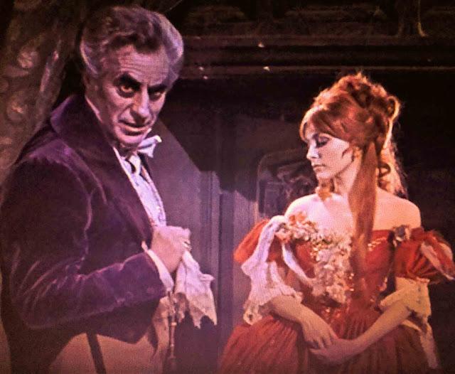 cena do filme A dança dos vampiros conde e sarah