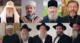 Зеленский записал видеообращение религиозных лидеров к жителям оккупированных территорий