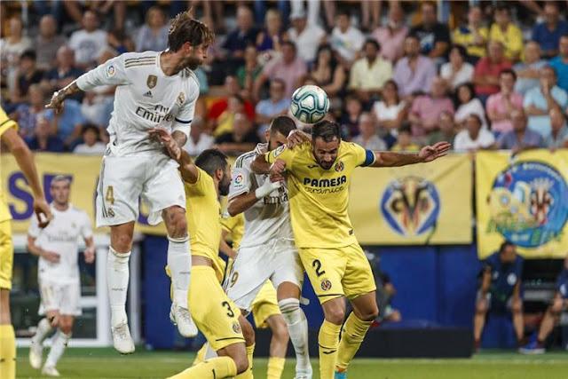 بث مباراة ريال مدريد ضد وفيا ريال HD