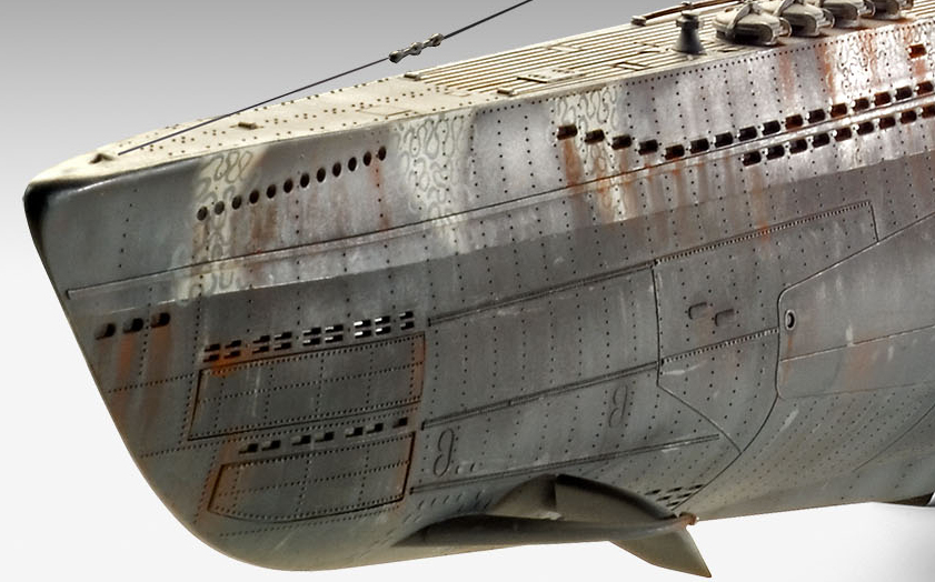 Revell German Submarine Type VII C//41 1:72 05163 ++