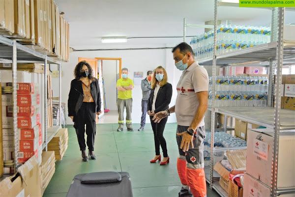 El  Cabildo aprueba el convenio con Cruz Roja para coordinar la actuación ante las emergencias