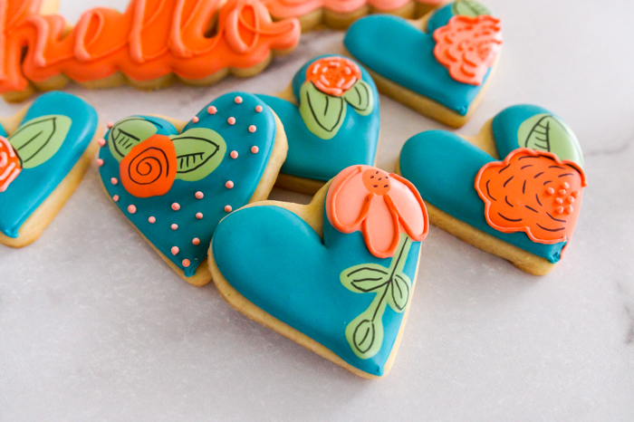 Cookie Color Combination Crush: Terracotta + Teal