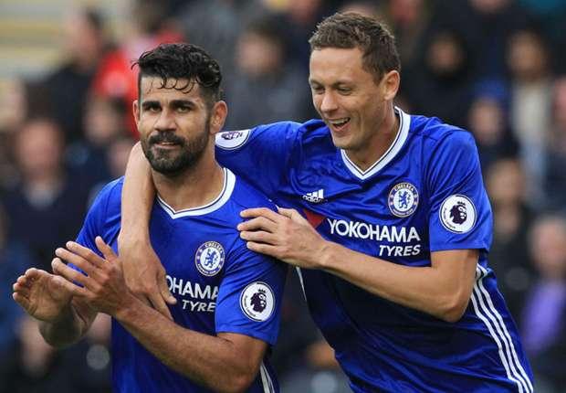 Chelsea FC Diego Costa and Nemanja Matic