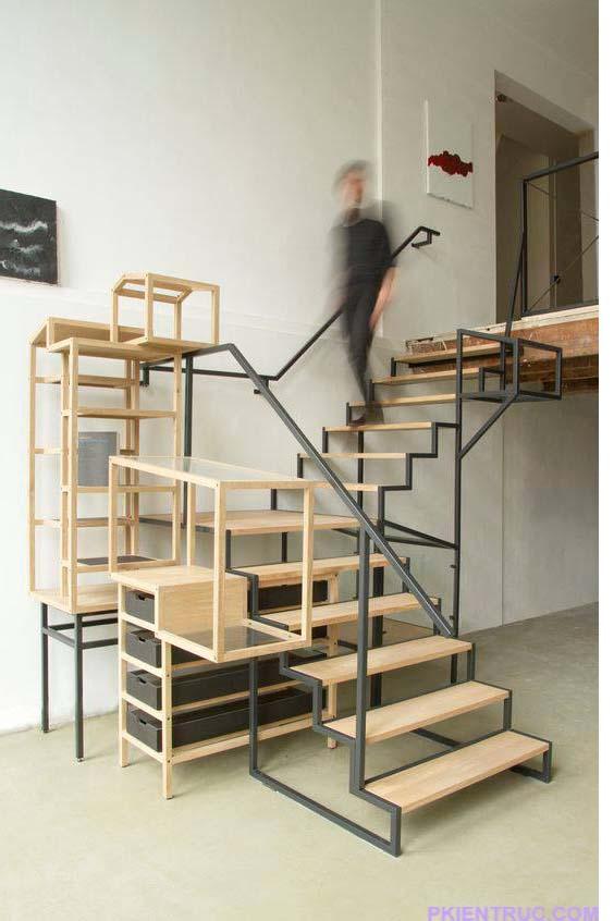 Kiểu cầu thang kích thích tính sáng tạo