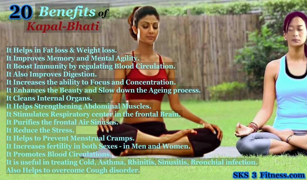 Benefits of Kapalbhati Pranayam