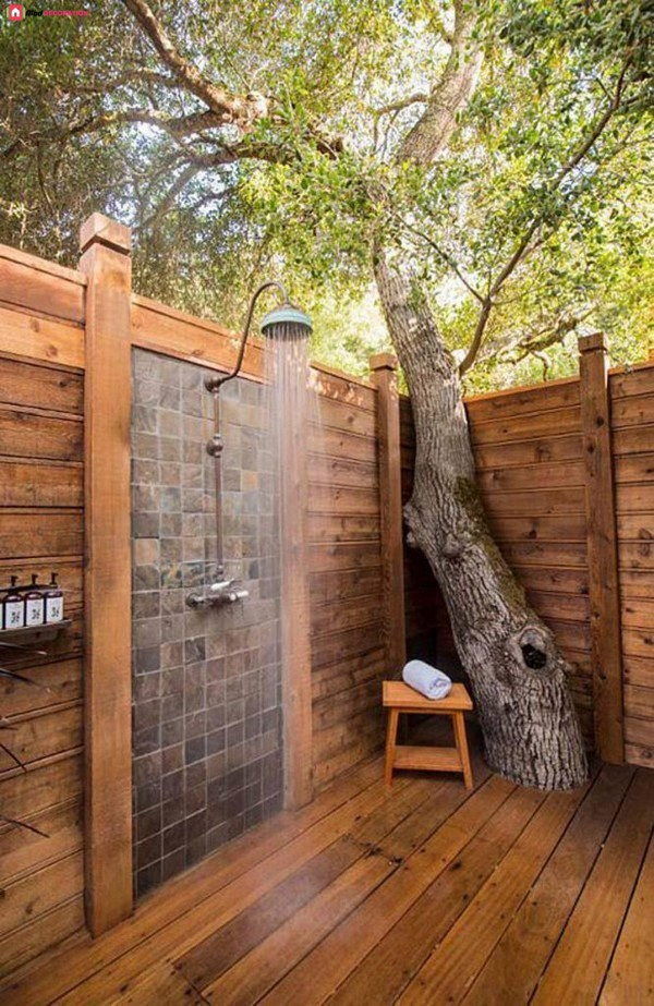 Bring The Bathroom Outside And Have a good time In Nature