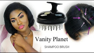 Get rid of heavy dandruff with a super relaxing shampoo brush