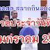 ถ่ายทอดสด การออกรางวัลสลากกินแบ่งรัฐบาล งวดวันที่ 17 มกราคม 2561