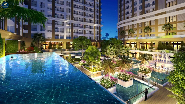 Cảnh quan và môi trường sống tại dự án Sunshine Garden Minh Khai