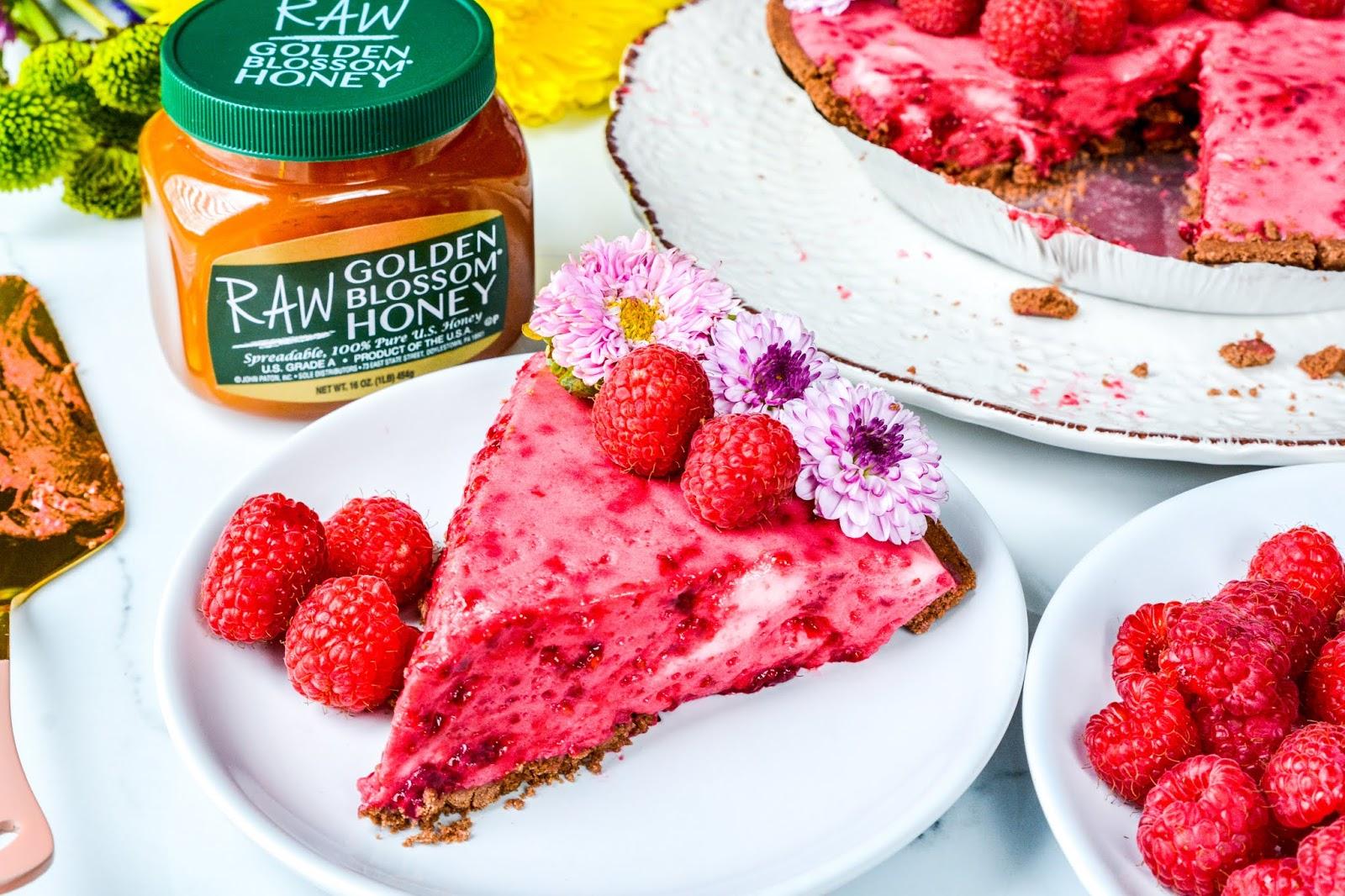 Raspberry Chiffon Pie