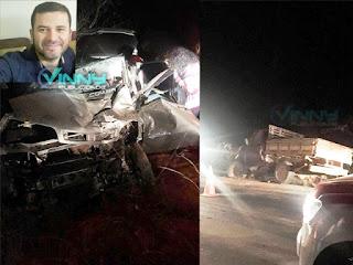 Coordenador morre em acidente