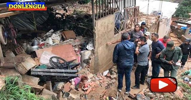 Niña de 4 años murió aplastada por una pared durante las lluvias en Vargas