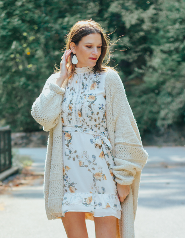 How to wear your dresses in the fall