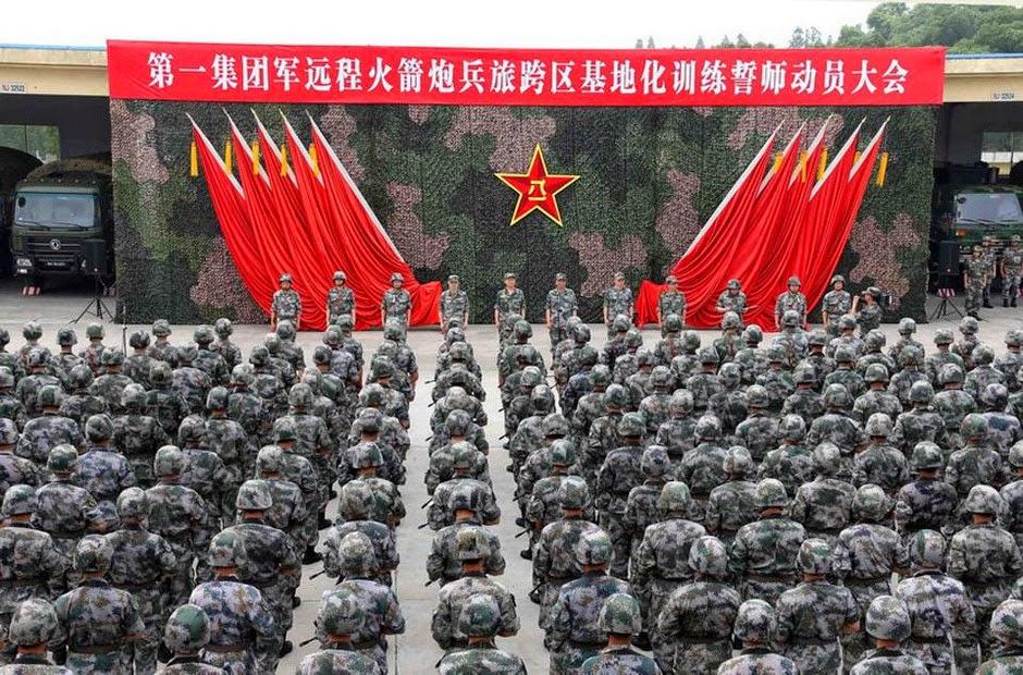 Resultado de imagen para fuerza militar china