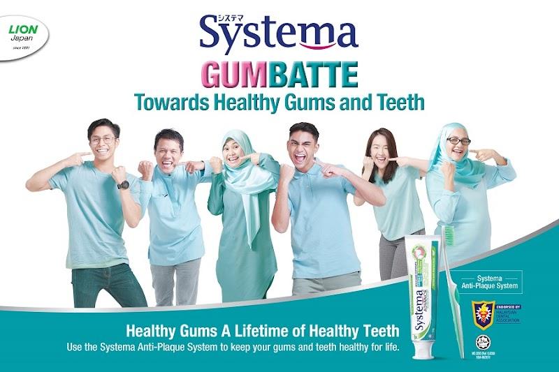 Ikrar Systema untuk 'Gumbatte Towards Healthy Gums & Teeth' bersama Rakyat Malaysia