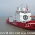 China Luncurkan Kapal Pemecah Es Produksi Dalam Negeri