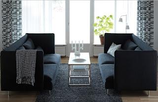 Dekorasi Ruang Tamu Ikea