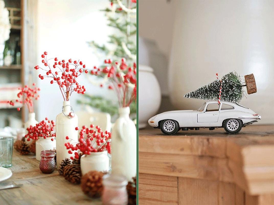 decoração de natal a branco - inspiração