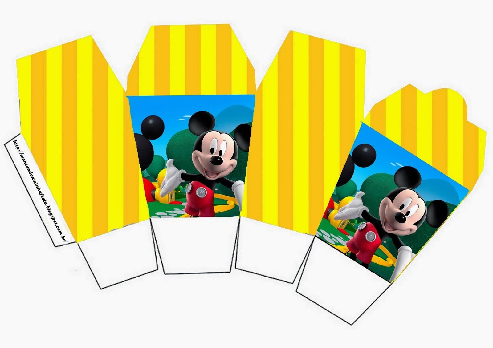 Casa de mickey cajas para imprimir gratis ideas y - Casas embargadas la caixa ...