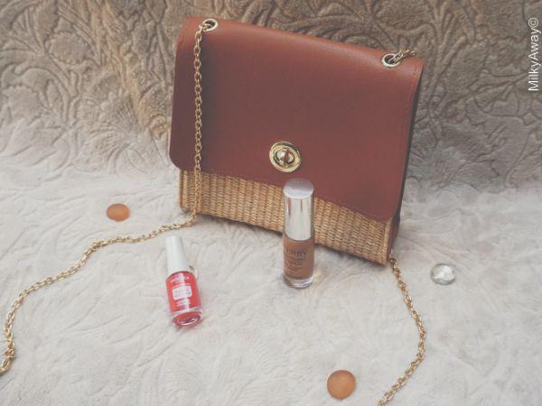 Maquillages de la My Little Box X Petite Mendigote du mois de juin