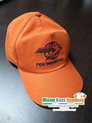 Pembuatan Topi Pos Indonesia Murah