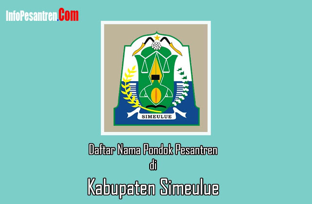 Pesantren di Kabupaten Simeulue
