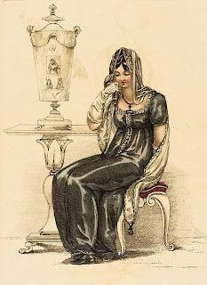 Image result for regency mourning