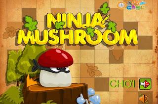 Game ninja nấm tìm đường về nhà