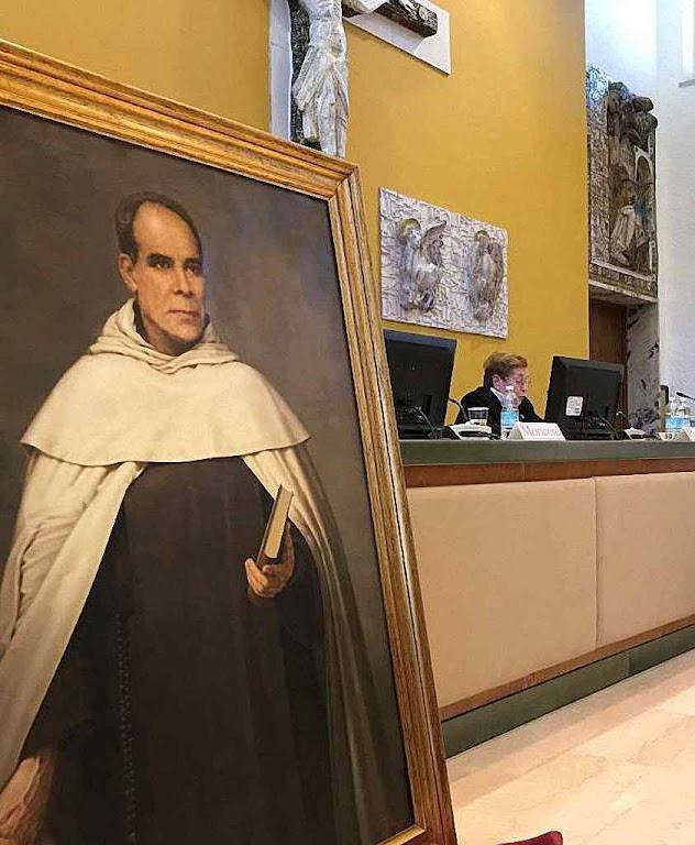 Congresso Francisco Palau, na Pontifícia Faculdade Teológica Teresianum, Roma. Com a palavra Soror Josefa Pastor CMT