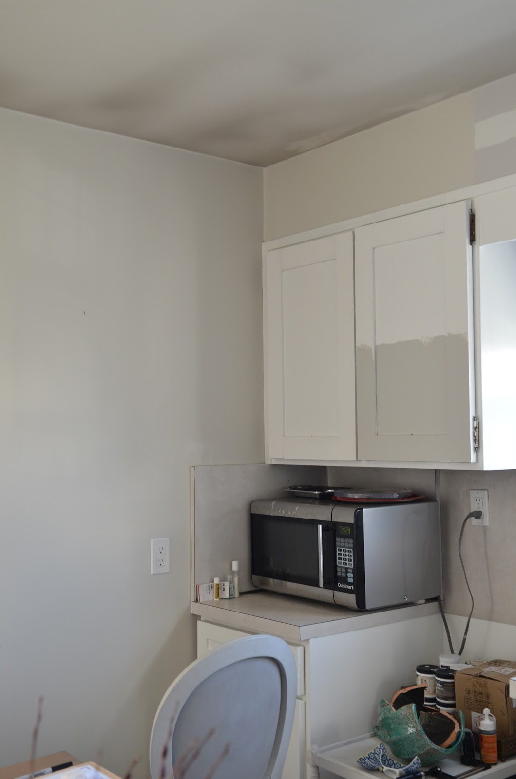 Benjamin Moore Pure White Kitchen Cabinets