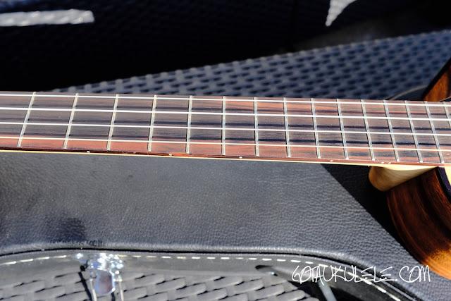 ZT Baritone Ukulele fingerboard