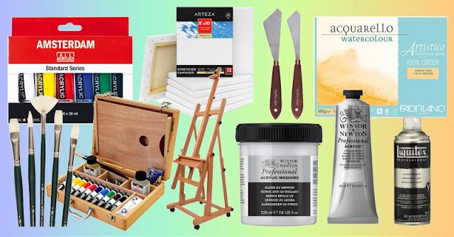 prodotti per belle arti su Amazon