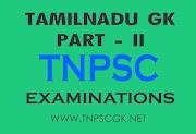 Tamilnadu Gk for Tnpsc Exam - [Part - II]