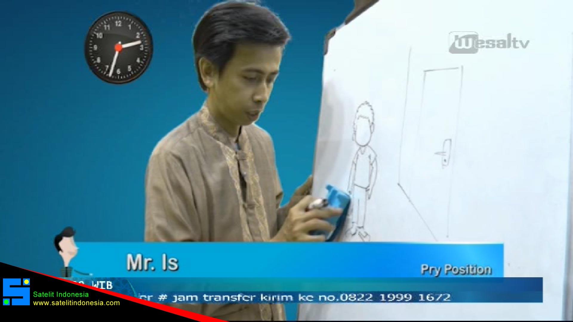 Frekuensi siaran Wesal TV Indonesia di satelit Telkom 4 Terbaru