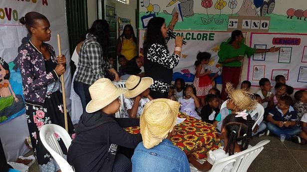 Conceição do Almeida: Estudantes realizam projeto para resgatar e valorizar o Folclore